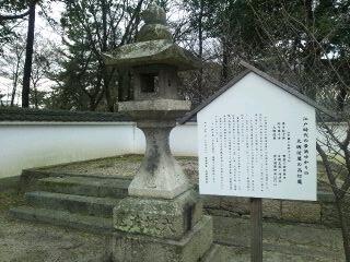 大坂淀屋の高灯籠