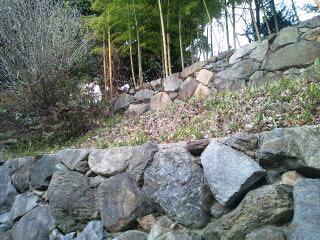 伏見城の土塁